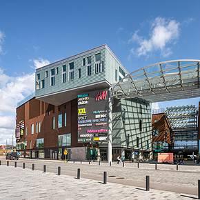 REDI Shopping Centre: thermoprofile panel